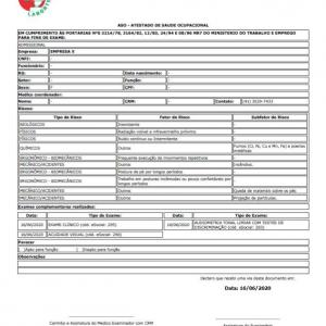 Clinica exame admissional centro curitiba