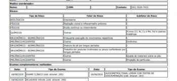 Exame admissional curitiba